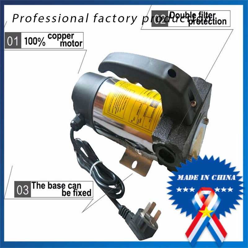 AC220V 120w 45l/min Diesel Kerosene Electric Oil Pump 68AC220V 120w 45l/min Diesel Kerosene Electric Oil Pump 68