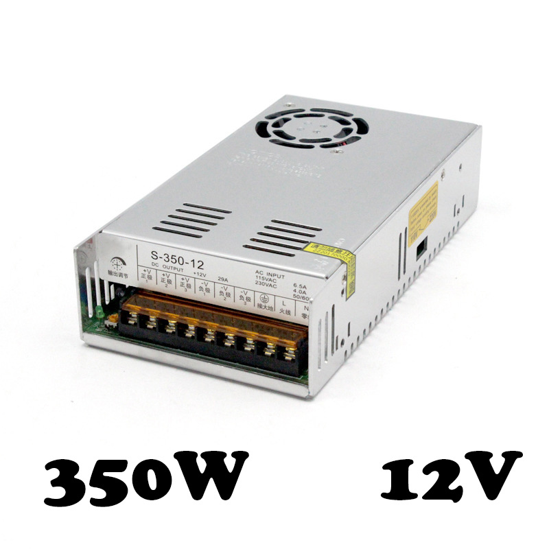 S-350-12 29A power supply 12V 30A high efficiency  Single output switch power supply 20pcs 350w 12v 29a power supply 12v 29a 350w ac dc 100 240v s 350 12 dc12v