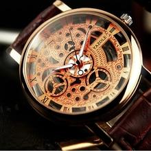 Yazole 2016 esquelético del reloj de los hombres de primeras marcas de lujo famoso oro masculino reloj de cuarzo reloj de pulsera para hombres reloj de cuarzo relogio masculino