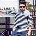 Men Polo Shirt fashion Strip Patchwork brand polo camisas man plus size 7xl 6xl 2xl camisets for man