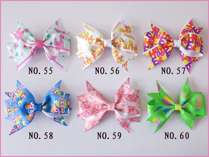 """300 BLESSING Good Girl Boutique 3.5/"""" A Mermaid Hairbow Clip #248 Wholesale Baby"""