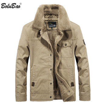 BOLUBAO Fashion Brand Men Jackets 2019 New Men Cotton Military Style Jacket Pocket Man Outwear Jackets Clothing