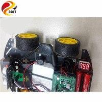 Arduino1 Smart 4WD Car Kit WiFi Intelligent Tractor UNO R3 Ultrasonic Obstacle Avoidance Starter Kit Diy