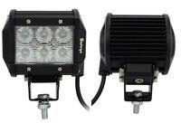 2pcs 18W Led Work Light Cree LED Work Lights Bar For Trucks Boat Led Worklamp Led