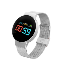 Dropshipping ราคาถูก BluetoothSmart นาฬิกาสำหรับ Android/IOS IPhones หน้าจอสัมผัสกันน้ำกีฬาสมาร์ทนาฬิกาข้อมือผู้หญิง
