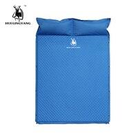 Открытый толстые Автоматическая надувные подушки площадку открытый палатка коврики двойной надувной матрас для кровати гидроизоляционны