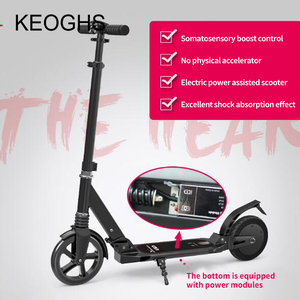 Image 4 - Somatosensory electric powered electric scooter adult foldable mini PU2 wheels scooter lithium electric drive Aluminum alloy