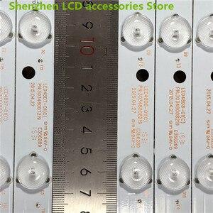 Image 5 - 10 ชิ้น/ล็อต LE48M33S LCD backlight บาร์ LED48D8 ZC14 01 (C) LED48D7