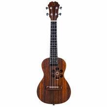 Populele 23 pouces 4 cordes ukulélé Concert 18 Fret Roeswood Smart ukulélé Soprano soutien APP enseignement Mini Instrumentos musiciens