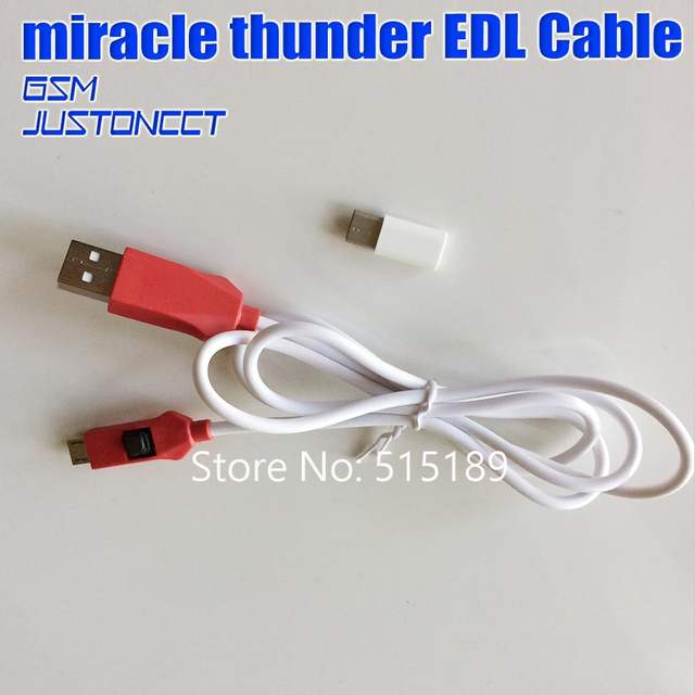 US $110 0 |miracle thunder dongle with miracle edl cable with mriacle boot  jigs function as same as like miralce key /miracle box -in Telecom Parts