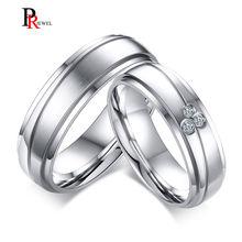 Парные обручальные кольца с фианитами для женщин и мужчин 6