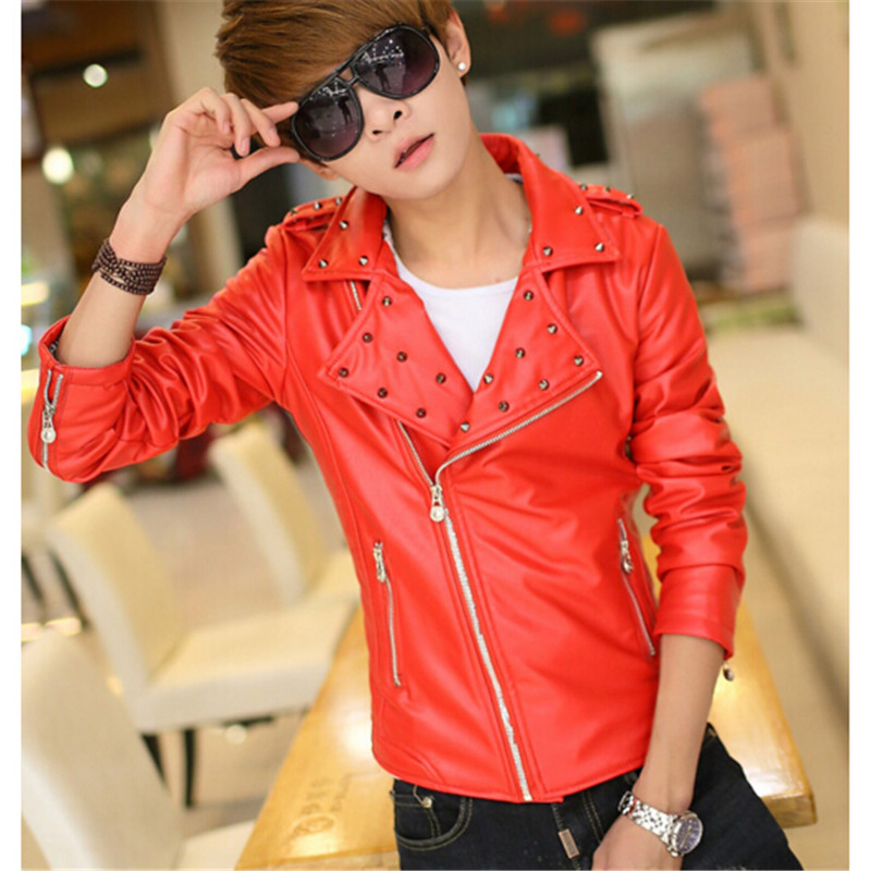 Online Get Cheap Mens White Leather Jacket -Aliexpress.com