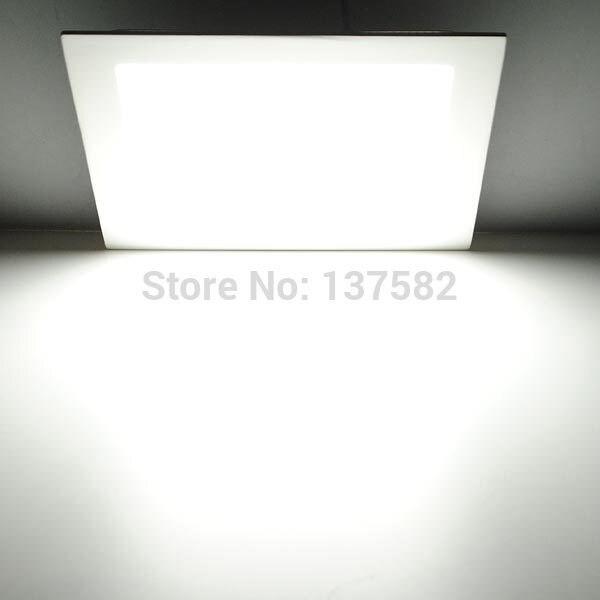 watt cuadrado led luz de techo ahuecada cocina bao lmpara acv llev abajo with lamparas led para baos