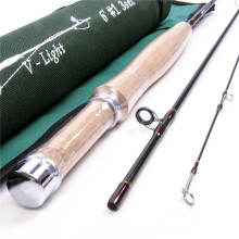 Maximumcatch 1/2/3WT Fly Rod 6'/6'6″/7'/7'6″ 3/4SEC Medium Fast Graphite Fly Fishing Rod and Cordura Rod Tube