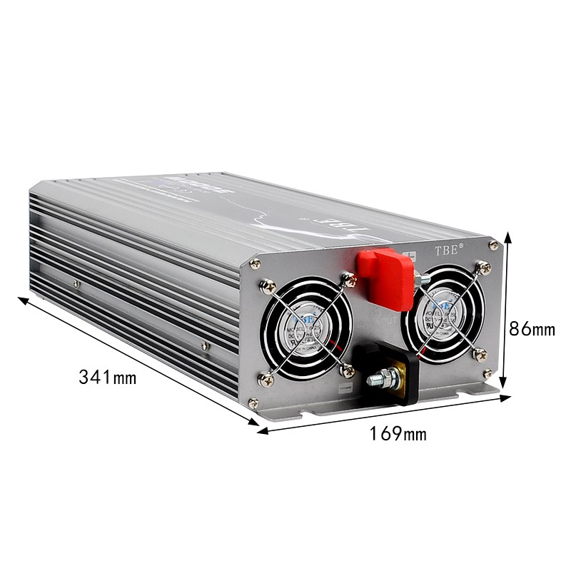 High Quality 3000W Pure Sine Wave Power Inverter Car Auto 3kw Power Inverter For Boat House Bazaar Pure Sine Wave With Charger - 6