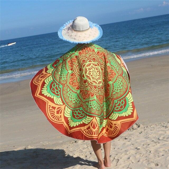 Sexy beach towel