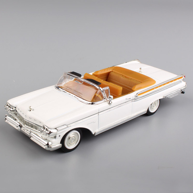 1:43 scale ford 1957 Mercury Turnpike Cruiser Convertible metal styling vintage vehicle metal diecast model toys cars for kidsDiecasts & Toy Vehicles