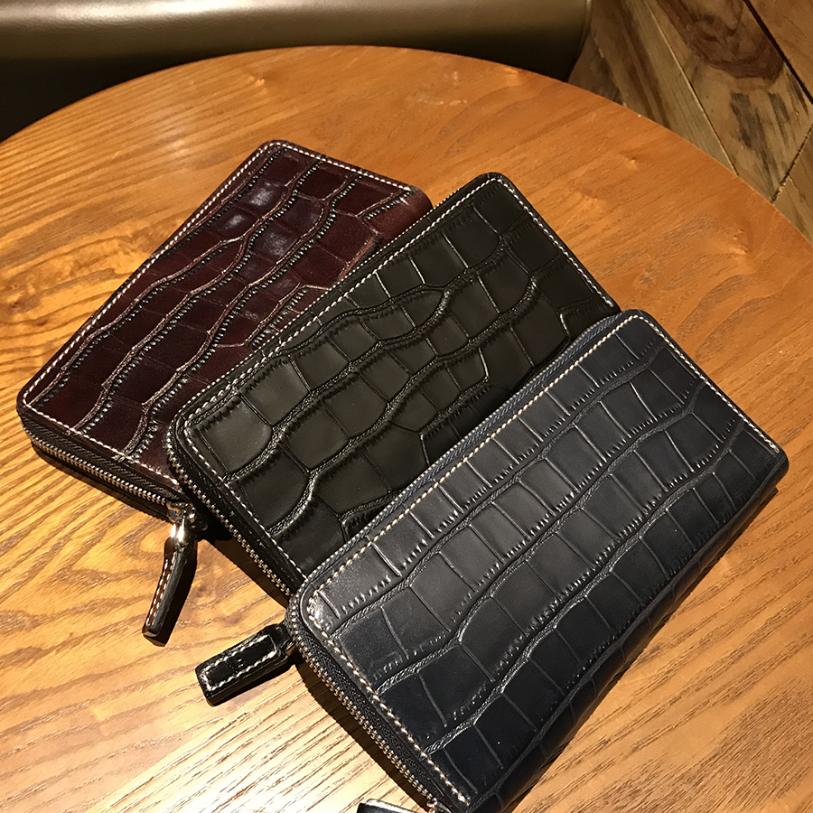 где купить New Imported leather Men Wallets Luxury Alligator Man Business wallet zipper Purses Business Card Holders Clutch Bag Handbags по лучшей цене
