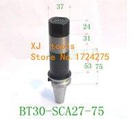 Centro de usinagem CNC shank shank BT30-SCA27 Moagem arbors cortador  instalação haste de moagem ferramenta de corte fresa lâmina de serra