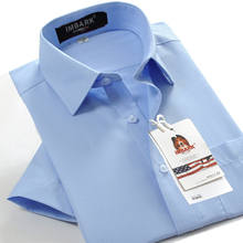 Shirts Men Short-Sleeve Formal-Dress Spring Casual Fashion Summer Man Big 45 48 46 47