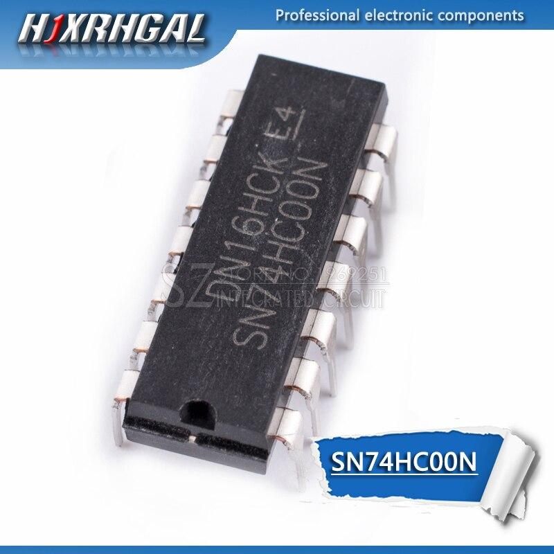 1pcs SN74HC00N DIP14 SN74HC00 DIP 74HC00 7400