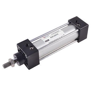 Single Rod Double Action Aluminum Alloy Pneumatic Air Cylinder 32mmx75mm single rod double action aluminum alloy air cylinder mal 32mmx150mm