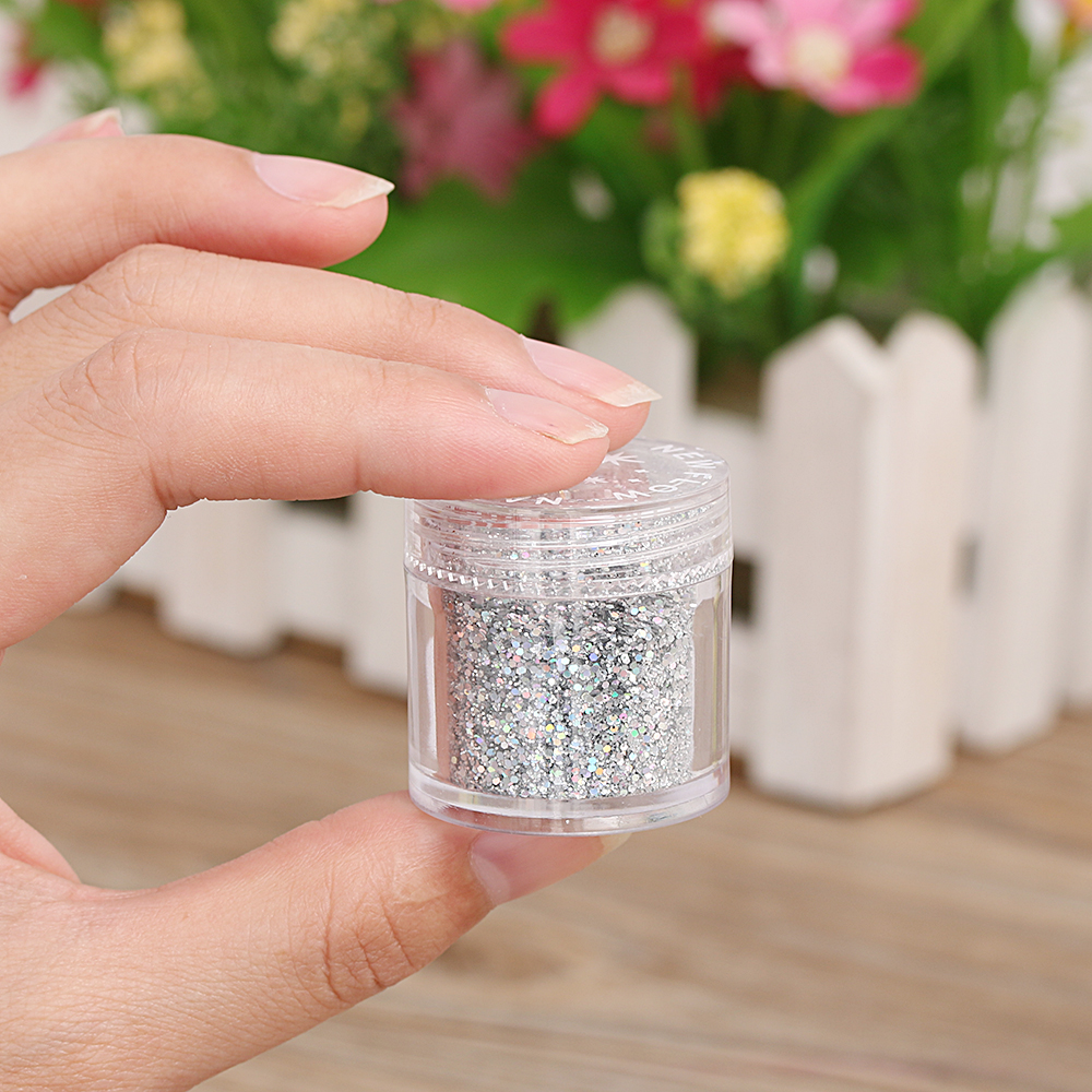 Pink glittery emoji nail art 183 how to paint a glitter - 10g Diy Nail Holographic Laser Nail Art Glitter Powder Rainbow Chrome Pigments China Mainland