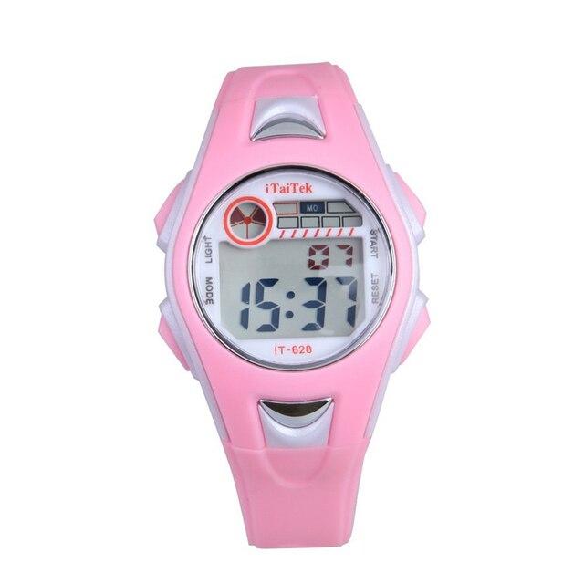 Cheapest Children Boys Swimming Sports Digital relojes Waterproof cute Cartoon W