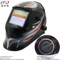 Solar Auto Darkening Welding Filter/Weding Mask/lens Tig Mig Arc Mma Plasma Black Face Decal Mask Welder Electric Welding Cap