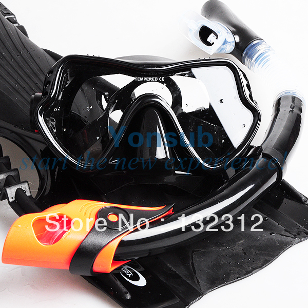 Silicone Adult Diving Equipment Set Mask Snorkel Adjustable Fins For Snorkelling Spearfishing Underwater Hunting Four ColorSilicone Adult Diving Equipment Set Mask Snorkel Adjustable Fins For Snorkelling Spearfishing Underwater Hunting Four Color