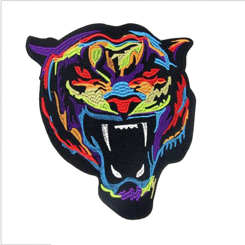 Aliexpress buy patch tiger head fashion design logo