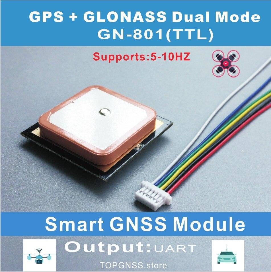 STM32 module GPS Ublox Neo-M8N Puce 51MCU UART TTL Intelligent gnss antenne double GLONASS récepteur Ont Flash NMEA paramètres sauver