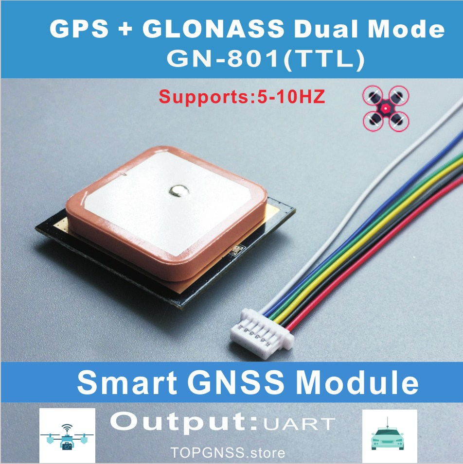 Ublox Neo-M8N module chip UART TTL Smart GPS gnss  antenna dual GLONASS receiver integrated FLASH, support NMEA settings save vk2828u8g5lf gps glonass ublox neo m8n model aircraft flight control module beidou microscience