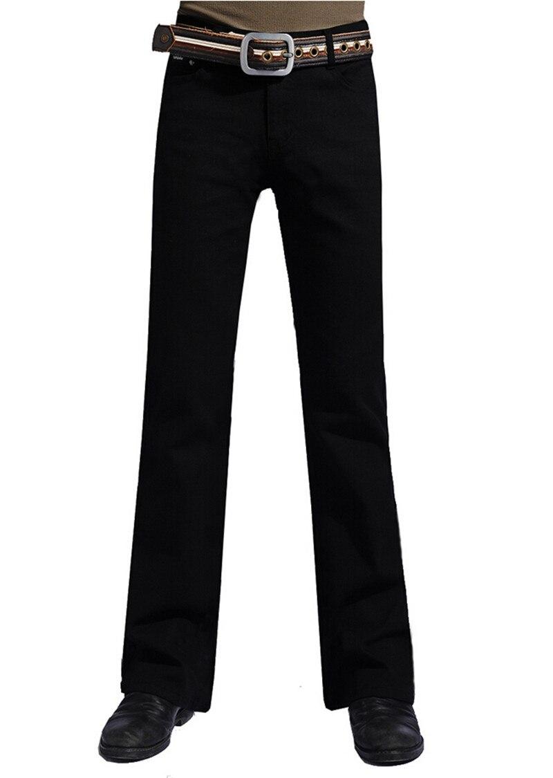 Mens Black Boot Cut Jeans Size 28 to 38 Big Denim Jean Flare Pants Trousers For Men средство для чистки плит духовок и грилей topperr 3405