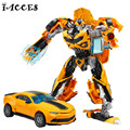 New Plastic+ Alloy Metal  4 Toys Anime Deformation Robot Cars Model Brinquedos Action Figures Classic Toys Boys Gifts Juguetes