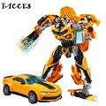 Novo 4 Anime Brinquedos Deformação Robô de Plástico + Liga de Metal Modelo Carros Brinquedos Figuras de Ação Brinquedos Clássicos Presentes Meninos Juguetes