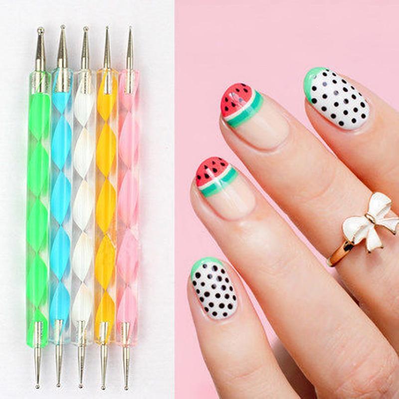 5 шт., мульти-стили, стразы для дизайна ногтей, самоцветы, набор, Хрустальная ручка для маникюра, сделай сам, декор для дизайна ногтей, TB03-08