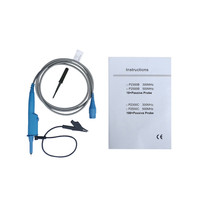 Hantek P2301B 300MHz 100M Oscilloscope Probe BNC Protective Cap Scope Clip Probe With An Insulating Sheath Durable