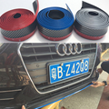 TT R8 A1 A2 A3 A4 A5 A6 A7 PU de Fibra de Carbono Proteger el Cuerpo Tira de Parachoques delantero Kit de Ajuste 2.5 Metros para Audi Universal
