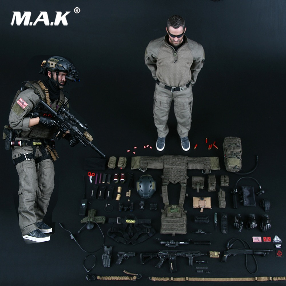 Full set military soldier figure New Solider US NAVY SEAL UNDERWAY BOARDING UNIT MMS9003 Action Figure Model Collection