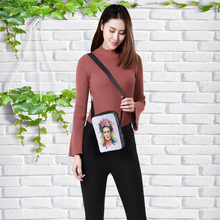 CROWDALE 2019 Fashion Women Crossbody Bags Famous painter Printing for Kids Girls Casual Mini Female Children Messenger Bag