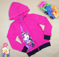 Spring autumn kids cartoon hoodies children's sweatshirts girl cotton clothing long sleeve top