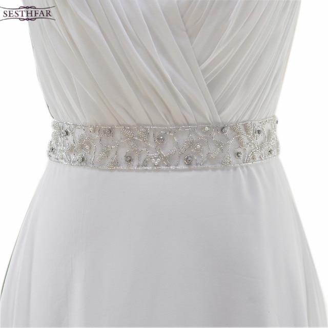 women\'s S268 handmade rhinestone Wedding evening dress sash Belts ...