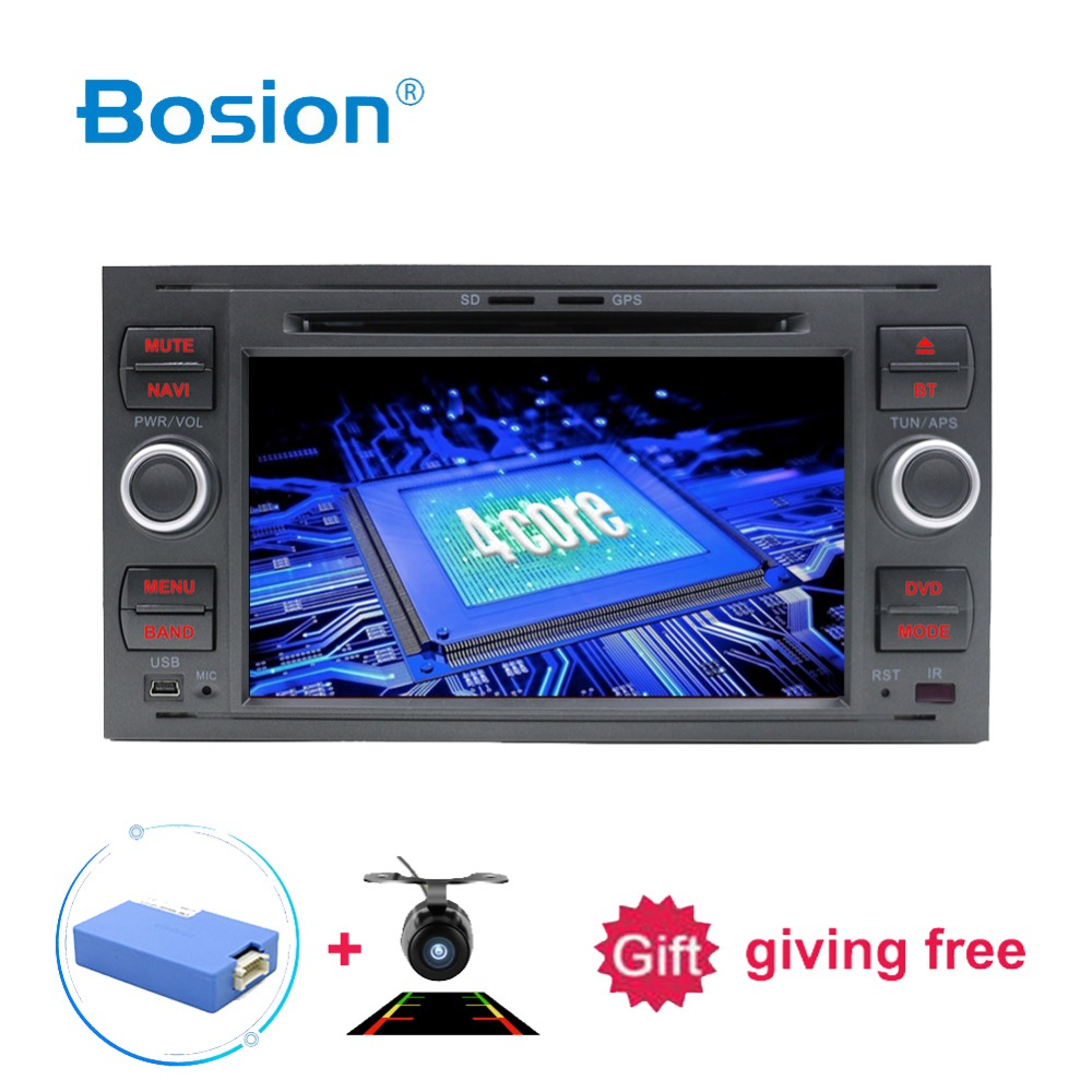 2 Din Android 8 1 8 Core Car DVD Player GPS Navigation WIFI 4G for FORD
