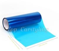 1 Roll / Dark Blue Headlight tint film Vinyl rear car lights tinting Tail lights FOIL tint size 0.3x10m/Roll PROTWRAPS