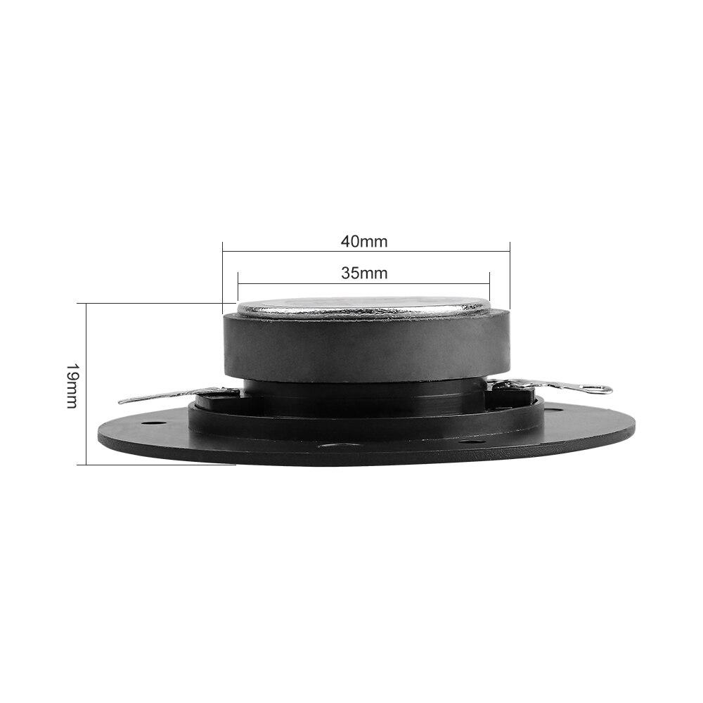 AIYIMA 2 шт. 3-дюймовые аудио портативные колонки 8 Ом 10 Вт динамик Louderspeaker трехкратный Высокочастотный динамик для стереозвука DIY аксессуары