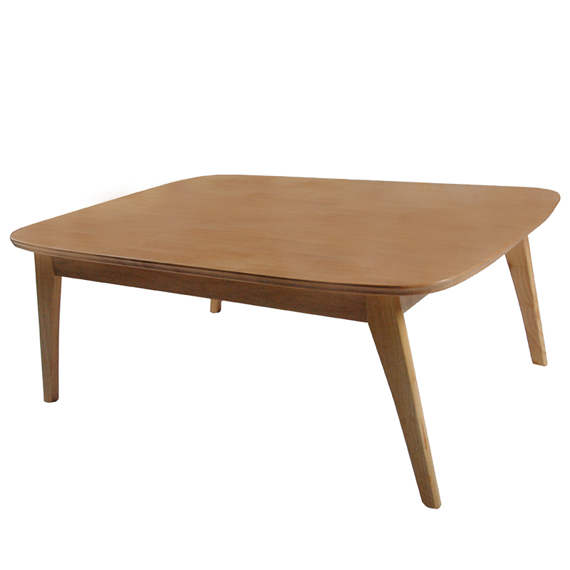 Modern Wood Table Kotatsu Japanese Style Living Room Furniture Coffee Table Natural/Dark Walnut Color Asian Center Table Wooden odd ranks yield retro furniture living room coffee table corner a few color seattle bedroom nightstand h