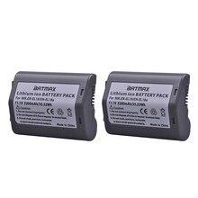Lot de 2 batteries de caméra 3200mAh EN EL18, pour appareils Nikon D4, D4S, D5, Nikon D800, D800E
