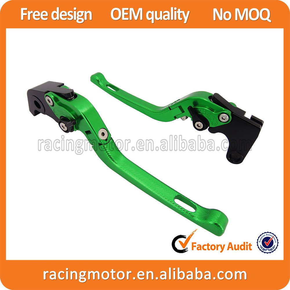 CNC 3D Feel Folding Brake Clutch Levers For Hyosung GT250R 2006-2010 GT650R 2006 2007 2008 2009 5 color for hyosung gt250r 2006 2010 hyosung gt650r 2006 2009 folding extendable brake clutch levers