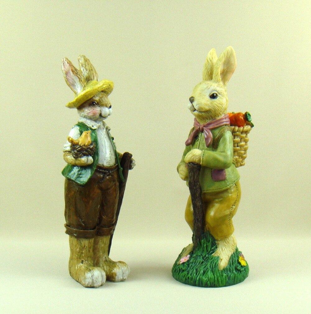 Искусственная статуя кролика и моркови ручной работы, мультяшная фотография для праздничного подарка и домашнего декора